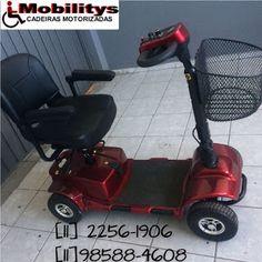Quadriciclo Quadris: Cadeira de Rodas Elétrica Motorizadas