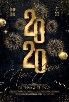 New Year Christmas Party Flyer by Artolus on Happy New Year Pictures, Happy New Year Photo, Happy New Year Quotes, New Year Photos, Happy New Year 2019, New Year Wishes, New Year 2020, Happy New Year Design, Party Flyer