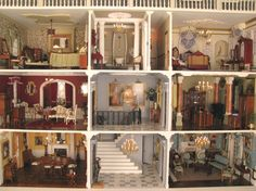 Emma Waddell's Ashthorpe Manor ------Christmas-Dollshouse-Festival-London----All images for the Christmas Dollshouse Festival in London by SHCPR