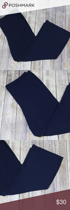 """Boden Camille Wide Leg Pants Career WM467 Boden Women's Camille Wide Leg Pants. UK 20 US 16. 100% polyester.  Machine wash.  Great for career wear.  Style WM467. In good, preowned condition with no flaws noted.  Measures approximately 21"""" at back waist, 13"""" rise, 31"""" inseam.  No trades, offers welcome.  From online:  Put a date in your diary because we've got some breezy, wide-leg trousers you're going to want to show off. The drapey cut will keep you feeling cool (be it home or away) and…"""