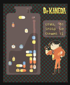 A little Dr. Mario/Akira mash-up I did a while back.    -Anthony Holden
