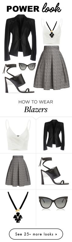 """9 AM Vice President"" by marymanuel400 on Polyvore featuring Rumour London, Rick Owens, Doublju, Marni and Tom Ford"