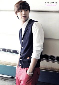 THE FNC Vol. 3 Minhyuk CNBLUE (scan by F-Cookie)