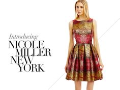Nicole Miller New York New Collection!  In need of a trendy wardrobe revamp for fall? Introducing Nicole Miller New York, our newest featured collection, which includes versatile pieces likely to become this season's closet obsessions.  The collection boasts classic colors in fashion-forward styles such as fit and flare skirts, high-low hems, and unique touches like fringe and feathers.  RSVP to upcoming nuptials with any of these alluring frocks in mind, or suit up for your next office…