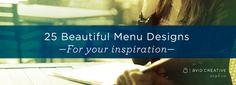 Menu Design, Creativity, Posts, Blog, Inspiration, Beautiful, Biblical Inspiration, Menu Layout, Messages