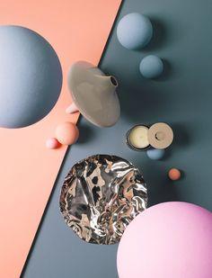 Palette featuring Rose Quartz & Serenity   art direction   still life photography