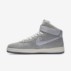 Nike Air Force 1 Ultra Force Mid Pure Platinum/Pure Platinum (WS) (654851  012)