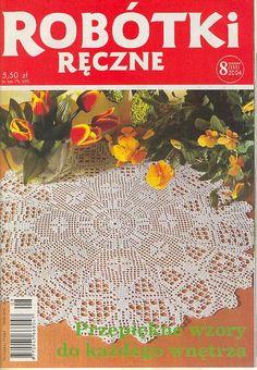 robótki ręczne 8.04 - BeaS Bea - Picasa Webalbums Crochet Book Cover, Crochet Books, Thread Crochet, Knit Crochet, Crochet Symbols, Crochet Chart, Crochet Patterns, Lace Doilies, Crochet Doilies