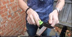 5 Ways to Sharpen a Knife | No Knife Sharpener? No Problem! Check out these Easy Tips & Tricks at http://survivallife.com/5-ways-to-sharpen-a-knife/
