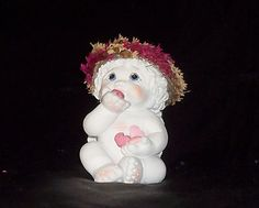 DREAMSICLES - Blow Me A Kiss - Cherub / Angel Figurine