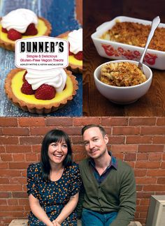 Bunner's: Simple & Delicious Gluten-Free Vegan Treats by Ashley Wittig & Kevin MacAllister, pictured