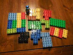 Lego lot young kids mix colored bricks 51 Blocks & 1 Figure #LEGO