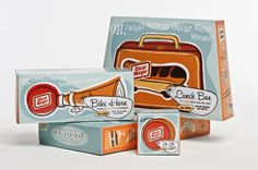 1950's style packaging for Oscar Mayer
