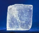 Why Does Salt Work as a Preservative?: This is a picture of a single salt crystal. Salt affects the osmotic pressure of foods, making the environment inhospitable for bacteria that spoil food.