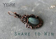 Win this pendant by sharing the picture on your facebook wall!