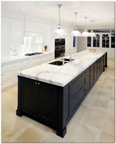 Best Kitchen Trends For 2016 Below are the 5 key points to consider when remodeling your kitchen.Checkout our latest collection of Best Kitchen Trends For 2016 which show. Best Kitchen Designs, Modern Kitchen Design, Interior Design Kitchen, Modern Design, Long Kitchen, New Kitchen, Kitchen Black, Awesome Kitchen, Kitchen Art