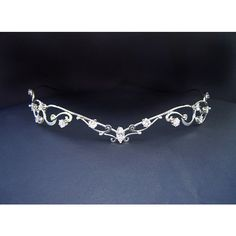 Starlight Circlet Elven Celtic Bridal Silver Tiara Wedding Headpiece... ($255) ❤ liked on Polyvore featuring accessories, hair accessories, crowns, tiara, silver tiara, crown tiara, bridal tiaras, crown hair accessories and bride hair accessories