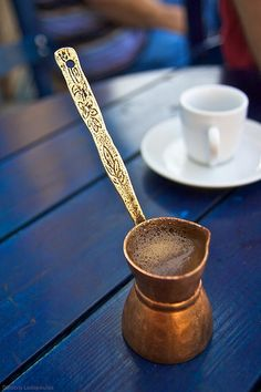 Turkish Ibrik Coffee | All rights reserved by Dimitris Ladopoulos