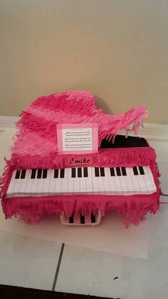 Piano Piñata. Musical instrument.  Handmade. New by LOVABLEPINATAS on Etsy