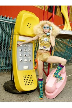 David LaChapelle. Model. Phones...Lol http://www.youtube.com/watch?v=WCc12s4YYzA