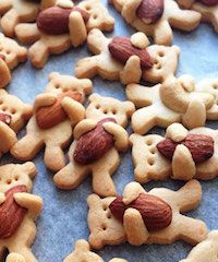 Hoe schattig zijn deze berenkoekjes. Leuk om te bakken met kinderen!