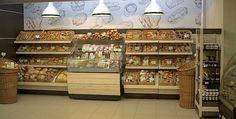 Оформление хлебного отдела — Супермаркет «Галерея Гурмэ» (ТЦ «Калинка», г. Тюмень)