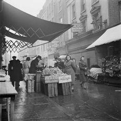 Berwick Street in April 1961.