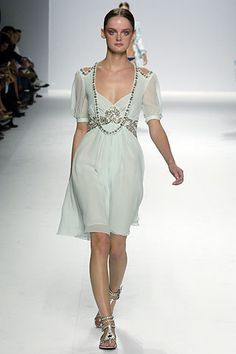 Emilio Pucci Spring 2006 Ready-to-Wear Fashion Show - Solange Wilvert