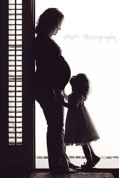 Maternity Silhouette.  A former classmate of mine took this picture.