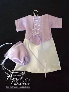 Baby Gown Design, Angel Gowns, Angel Babies, Gown Pattern, Premature Baby, Christening Gowns, Doll Dresses, Baby Sewing, Baby Knitting