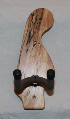 Headstock wooden wall hanger
