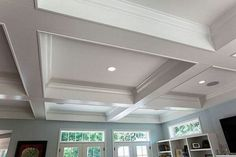 False Ceiling Design With Chandelier false ceiling living room and dining.False Ceiling Design false ceiling details home.False Ceiling Wedding New Years Eve. Basement Ceiling Insulation, Basement Ceiling Options, Drywall Ceiling, Ceiling Beams, Ceiling Lights, Basement Ceilings, Basement Ideas, Coffered Ceilings, Basement Stairs