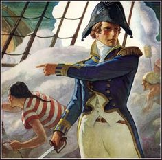 Wyeth The Horatio Hornblower Illustrations Published by Little Brown & Co ~ This DJ is by Andrew Wyeth Barbary Wars, Nc Wyeth, Howard Pyle, Baroque Art, Andrew Wyeth, Good Good Father, Historical Fiction, American Artists, American History