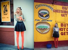 Hot Dog,Cheeseburgher & Frenchfries please!!!    Markus Lupfer look ♥