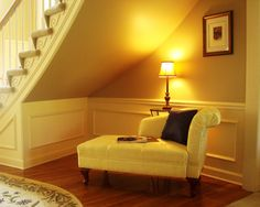 We designed this special place to curl up and read or just rest!