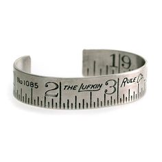 *sigh* I so want this sterling silver bracelet: Ruler Cuff, $220, now featured on #Fab.