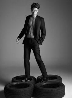 Hong Jong Hyun - Harper's Bazaar Korea November 2016 Korean Male Models, Korean Celebrities, Korean Actors, Hot Korean Guys, Korean Men, Asian Men, Asian Boys, Hong Jong Hyun, Jung Hyun