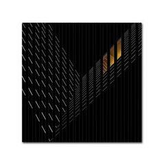 Trademark Fine Art 'Light Rail' Canvas Art by Gilbert Claes, Size: 24 x 24, Black