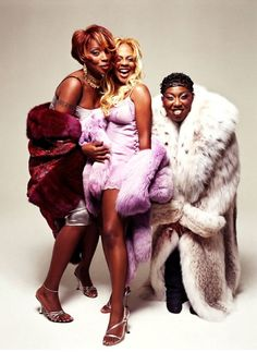 Mary J. Blige, Lil' Kim, and Missy Elliot - stars girls of hip hop Looks Hip Hop, Love N Hip Hop, Hip Hop And R&b, 90s Hip Hop, Hip Hop Rap, Lowrider, Lil Kim 90s, Mary J Blige, Fran Fine