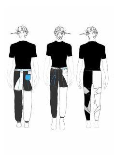 Fashion Sketchbook - fashion illustrations; lineup; fashion portfolio // Jade Scanlon