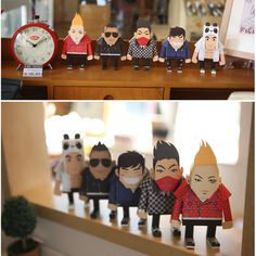 BigBang, Paper toy by YG entertainments | kollectionk $11.60