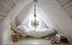 fluffy tent