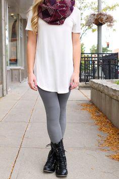 Legs for Days Leggings - Grey