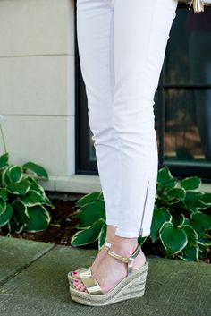 André Assous Brasilia Espadrille Wedges - Kelly in the City