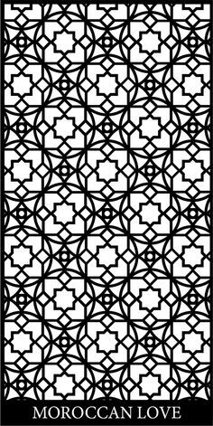 beautiful moroccan screen design - Google Search