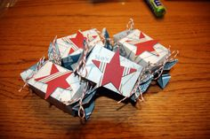 nautical candy wrapper