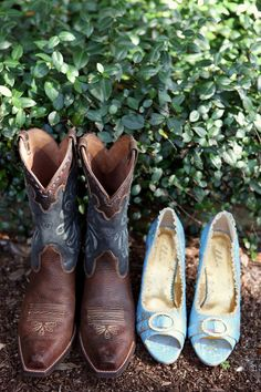 get a pic of our shoes. but they'll be boots :)