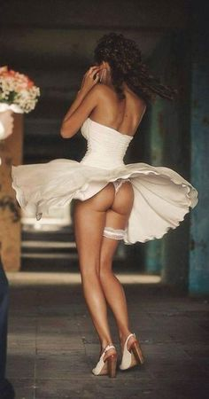 """Bride in wind"""