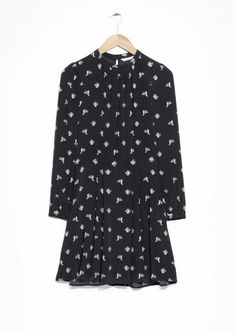 & Other Stories | Cactus Print Waisted Dress