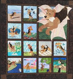 2016 Airedale Rescue Quilt - The last one if no new talents step up and take…